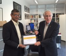 Dr. Milind Kirtane invited as Faculty in Australia